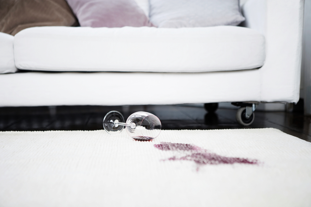 Tips Removing Red Wine Stains From Upholstery